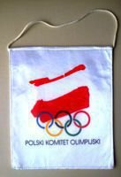 Polish Olympic Committee pennant