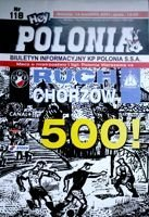 Polonia Warsaw - Ruch Chorzow I league (14.04.2001) official programme