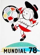 Postcard Mundzia - Official Mascot of Poland National Team of FIFA World Cup 1978