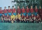 Postcard Servette FC season 1970