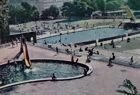 Postcard Swimming pools of Sport Club Pogon Szczecin