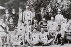 Postcard USA Team of Olympic Games Paris 1900