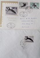 Postcard and envelopes FDC of Winter Olympic Games Innsbruck 1964 (Austria)