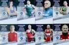 Postcards Hungarian wrestlers (13 items)