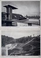 Postcards Olympic Swimmingpool and Amphitheatre in Berlin (1936)