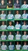 Postcards of Bohemians Prague football players season 1993-1994 (20 items)