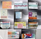 Postcards of Final tickets FIFA World Cup 1930-1994 (11 items)