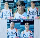 Postcards of Montpellier HSC football team players 1991-92 (5 items)