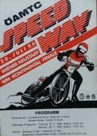Program World Championship Speedway Wiener Neustadt - 20/07/1986