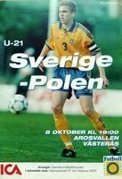 Programme  Sweden - Poland Eliminations Sydney 2000 (10.08.1999)