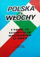 Programme match Poland - Italy qualification  European U-16 Championship (14.03.1990)
