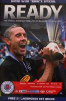 Rangers FC - Aberdeen FC Scottish Premier League programme (21.01.2012)