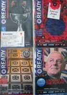 Rangers FC official programmes 2012-2013 season (4 items) + ticket