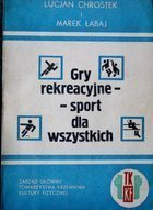 Recreational games - sport for everyone