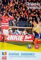 Romania - Denmark friendly match programme (18.11.2014)
