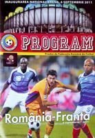 Romania - France UEFA Euro 2012 qualifying match programme (06.09.2011)