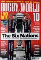"""Rugby World"" magazine (March 2018) + 2018 Six Nations Team Guide"