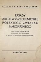 Rules of the Polish Ski Association training campaign (1935)