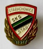 SKS Star Starachowice with golden garland (lacquer)