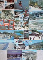 Set of 18 postcards Winter Olympic Games Lake Placid 1980 (USA)