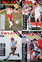 Set of 4 World Football magazines 1995