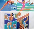 Set of 4 postcards sport's of Olympic Games Barcelona 1992 (China)