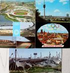 Set of 6 Postcards Olympic Games Munich 1972 (Germany)