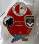 Slavia Prague - Group C UEFA Europa League 2018/2019 (enamel; official product)
