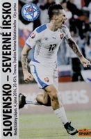 Slovakia - Northern Ireland friendly match (04.06.2016) official programme