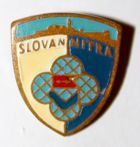 Slovan Nitra (lacquer; with signature)