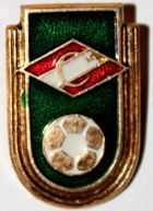 Spartak Moscow shield with ball (lacquer)
