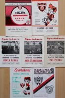 Spartak Trnava I league 1977-1992 official programmes (7 items)