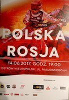 Speedway match Poland - Russia (14.06.2017) official programme