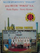 Sport Club Pogon Ruda Slaska-Nowy Bytom first basketball league season 1997/1998