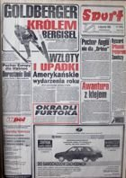 Sport journal - Annaual 1993 volume I and II (January-October)