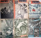 Sportowiec Weekly Magazine 1952-1956 (6 items)
