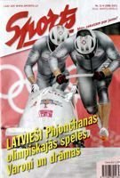 Sports bimonthly magazine (Latvia) - Winter Olympic Games Pyeongchang 2018