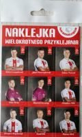 Stickers of Poland National football team (official certified product PZPN)