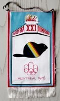 Summer Olympic Games Montreal 1976 pennant