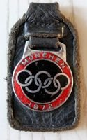 Summer Olympic Games Munich 1972 key ring (with signature)