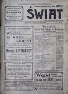 Swiat weekly magazine nr 45/1922 (photo's of football tournament in Warsaw)