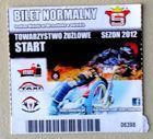 TZ Start Gniezno I League ticket (2012 season)