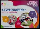 The 10. World Games Wroclaw 2017 postcard