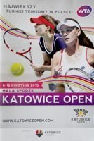 The 2015 Katowice Open Women's Tennis Tournament (06-12.04)