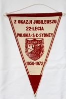 The 22th Anniversary of Polonia SC Sydney pennant (1972)