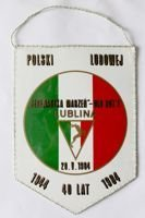 The 40th Anniversary Polish People's Republic. The Best Team of Lublin vs Old Boys Lublin (1984) pennant