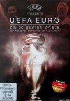 The 50 Best Matches of UEFA Euro DVD film (10 x DVD)