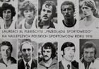 "The Best of 1976 Sportsman's of Poland ""Przeglad Sportowy"" contest postcard"