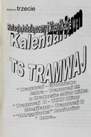 The Calendar of TS Tramwaj Cracow (season 2000/2001). The third edition programme