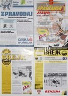 The Czech ice hockey league programmes 2000-2009 (four items)